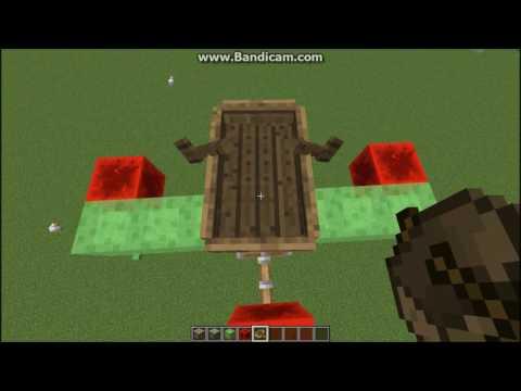 Minecraft redstone:#1 hướng dẫn làm máy bay thả bom đơn giản