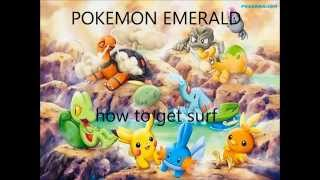 How To Get Surf Pokemon Emerald