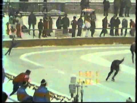 1984 Winter Olympics – Men's 1500 Meter Speed Skating Part 1