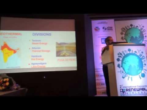 Geothermal Energy Potential (AGNEYOGARA- LAVA ENERGY)-Indian Scenario-Dr Ritesh Arya,ICRW 2014 Delhi