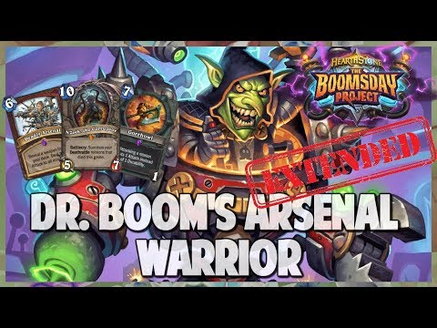 Dr  Boom's Arsenal Warrior | Extended Gameplay | Hearthstone | Boomsday Project