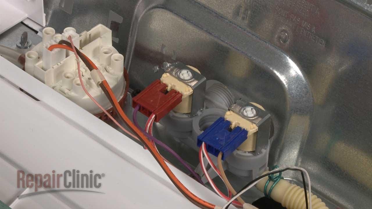 Washer Inlet Valve Replacement Ge Top Load Washing