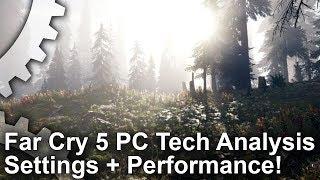 Far Cry 5 - Beállítások és Teljesítmény Elemzés
