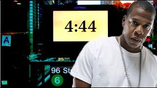 Jay-Z Releasing New Album 4:44 to Keep Tidal from going Bankrupt. 4:44 Ads Take Over NYC