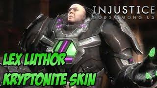 Lex Luthor Kryptonite Skin - Injustice Gods Among Us