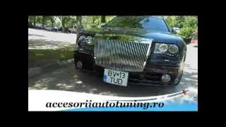 Chrysler 300c Rolls Royce Look Front Bumper,LED Headlamp