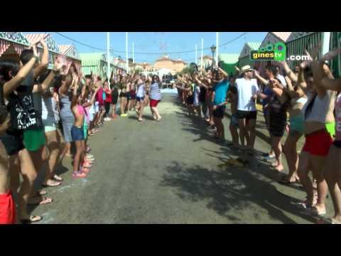 """Lip Dub de """"Qué cara más bonita"""" en la Feria de San Ginés 2015"""