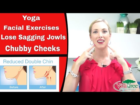 Yoga Facial Exercises : How to Lose Sagging Jowls & Chubby Cheeks - VitaLife Show Episode 162