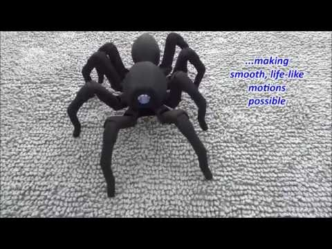 T8 the Bio Inspired 3D Printed Spider Octopod Robot - T8 the Bio Inspired 3D Printed Spider Octopod
