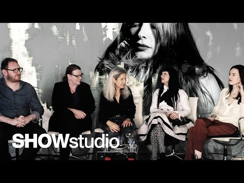 SHOWstudio: Roksanda Ilincic - Womenswear Autumn / Winter 2014 Panel Discussion