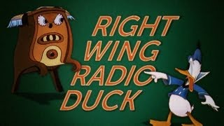 Right Wing Radio Duck