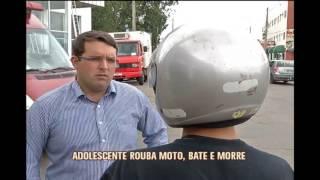 Adolescente rouba moto, bate ve�culo e morre em Alfenas