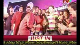 MP Harsha Kumar Dances for Chiranjeevi Song