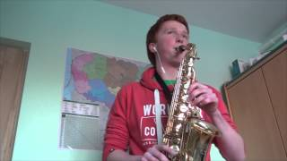 Imagine Dragons Radioactive Alto Saxophone