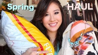 Spring Fashion Haul: H&M, Forever 21, Marshalls, Choies
