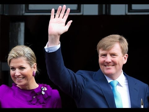 Oranjes vieren verjaardag Koning Willem-Alexander (47) in Amsterdam