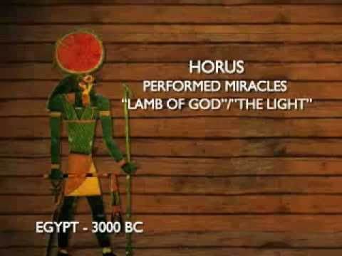 what jesus horus and many other gods had in common