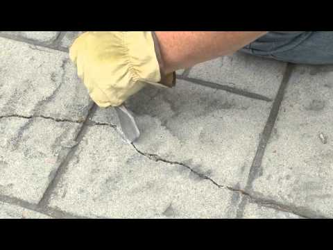 Sealing and Waterproofing Cracks in Concrete