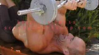 Bodybuilding Exercise: Home Triceps Workout