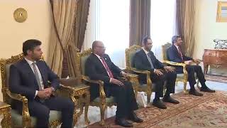 الرئيس السيسي يستقبل وزير الخارجية الإماراتي