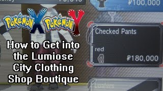 Pokemon X And Y How To Get Into The Lumiose City