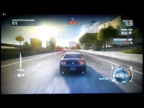 Need for Speed The Run - Geforce GTS 250 Test 1280x720 - 1920x1080.