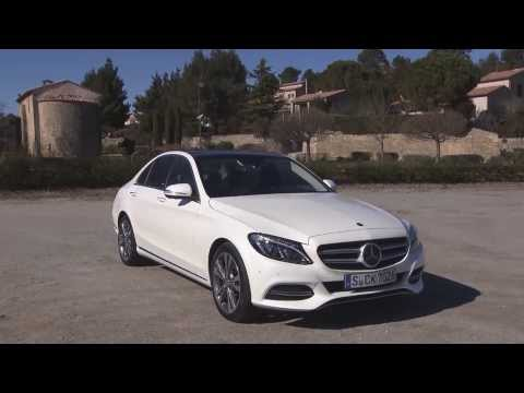 Mercedes-Benz C 220 BlueTec design diamond white bright - Preview | AutoMotoTV