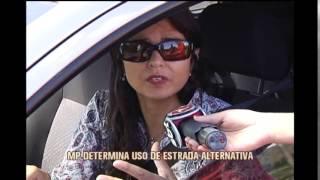 Tr�fego de caminh�es de min�rio � proibido na MG-030 em Nova Lima