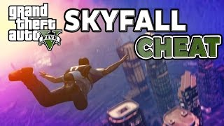 GTA V Skyfall Cheat Code Fly Like Superman