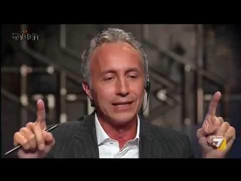 La gabbia – SCONTRO TRAVAGLIO – SANTANCHÈ TRA OFFESE PERSONALI E COLPI BASSI – parte 3 (11/09/2013)