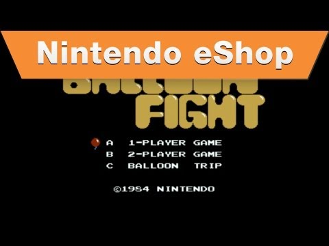 Nintendo eShop - Balloon Fight Wii U Virtual Console Trailer