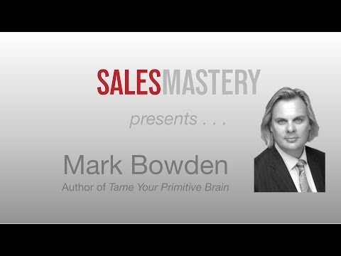 Mark Bowden on Controlling How Your Customers Feel