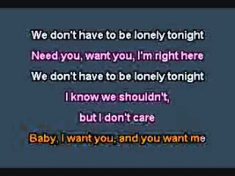 Lonely Tonight   Blake Shelton Karaoke (Male Part Sung)