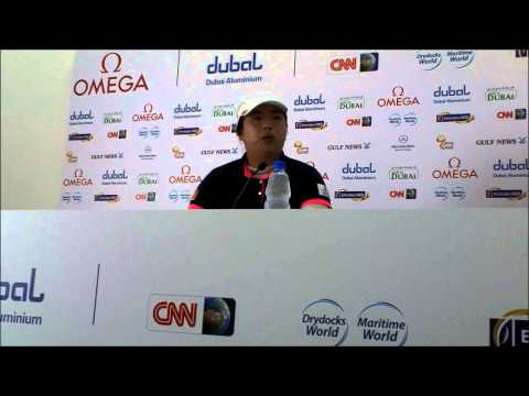 Shanshan Feng on the relationship with American Golfer Stacy Lewis