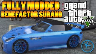 GTA 5 Fully Modified: Benefactor Surano