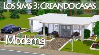 Los Sims 3 Construyendo Casas: Moderna (Pequeña Y