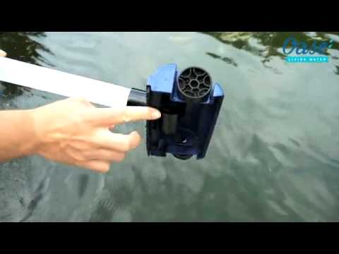 Oase pondovac 4 pond vacuum cleaner youtube for Diy pond cleaner