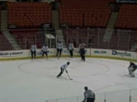 Pens Practice Warm-up Passing Drill