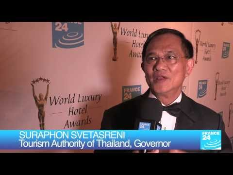 WLHA 2013 - Interview of Suraphon SVETASRENI, Tourism Authority of Thailand, Governor