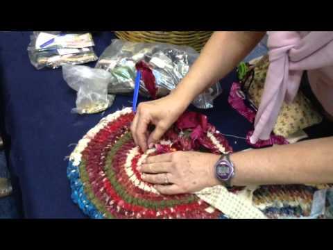 Demo - aguja para tapete- Expo Manualidades May13