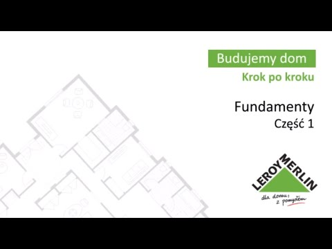 Fundamenty cz1. Budowa domu