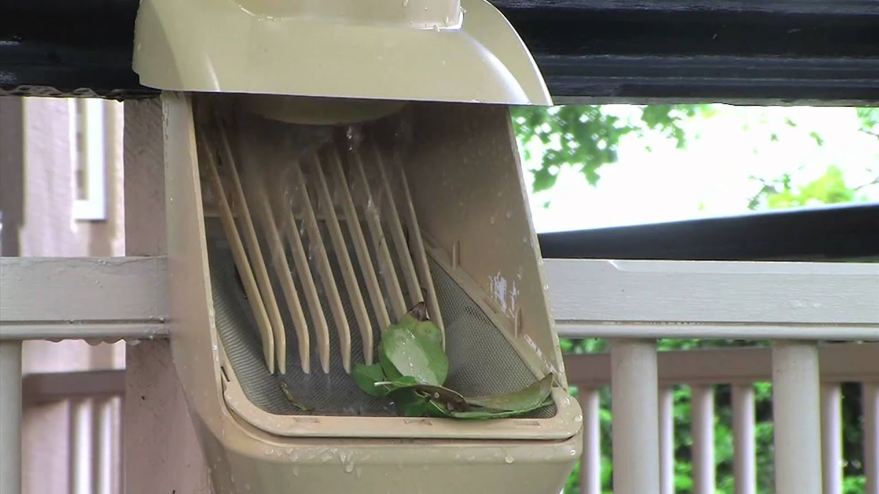 Rain Harvesting Clean Rain Ultra Downspout Filter And