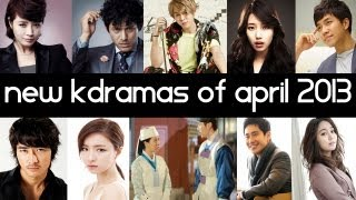 Top 6 New 2013 Korean Dramas [ April ] Top 5 Fridays