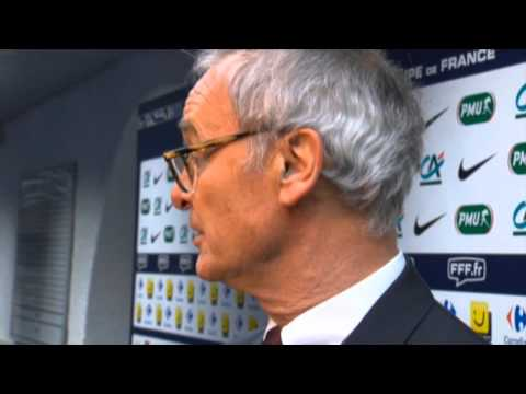 Claudio Ranieri: Falcao wegen Schiri verletzt | Coupe de France: Chasselay - AS Monaco 0:3