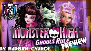Monster High: Ghouls Rule MOVIE Preview (Mattel Monster