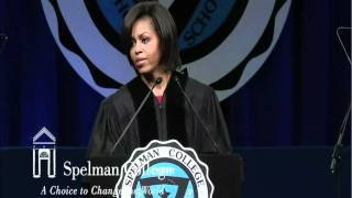 Michelle Obama Speech at Spelman's 2011 Commencement part 2/2