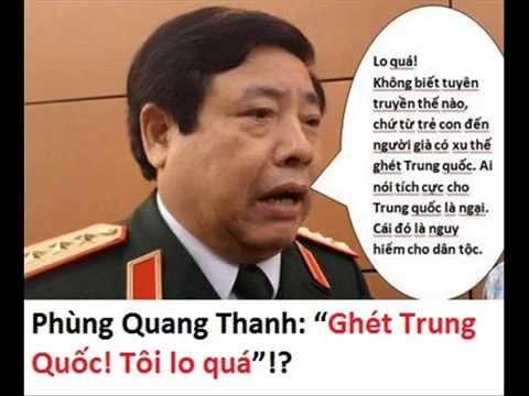 Phùng Quang Thanh có phải là người VN hay không ?