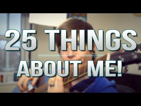 TDM Vlogs   25 THINGS ABOUT ME!   Episode 20