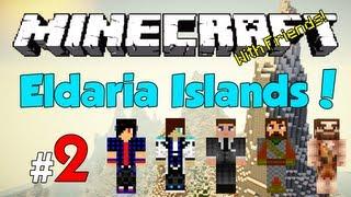 Minecraft: Eldaria Islands V3! Episode 2 - Cave Adventures [w/ Friends!]