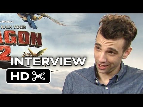 How To Train Your Dragon 2 Interview - Jay Baruchel (2014) - DreamWorks Animation Sequel HD